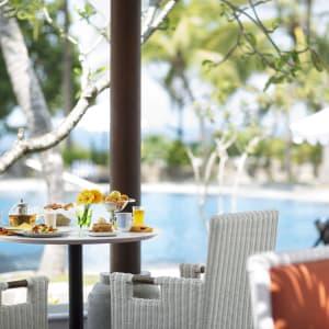 Taj Bentota Resort and Spa: Palms All Day Diner Pool Side View