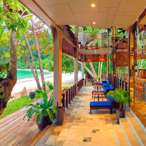 Bungaraya Island Resort à Kota Kinabalu:  Pantai Restaurant