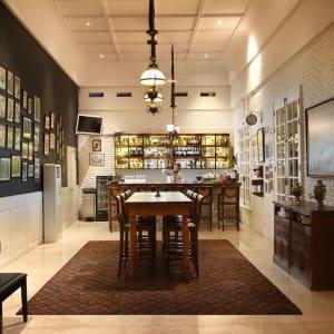 Plataran Borobudur Resort & Spa in Yogyakarta: Patio Bar
