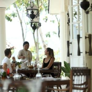 Plataran Borobudur Resort & Spa in Yogyakarta: Patio Terrace