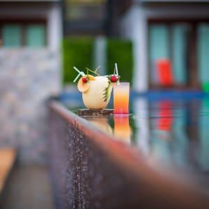Tup Kaek Sunset Beach Resort à Krabi: Pool Bar