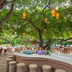 The Hotel @ Tharabar Gate in Bagan: Pool Side Restaurant