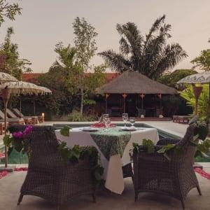 The Pavilions Bali in Südbali: Poolside Café