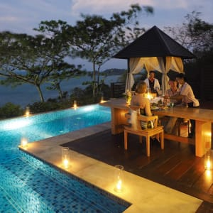The Tongsai Bay in Ko Samui: private dining experience