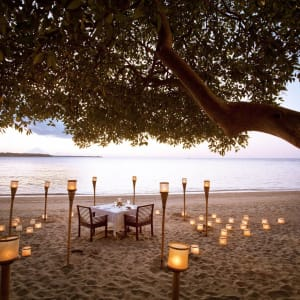 The Oberoi Beach Resort, Lombok: Private Dinner on the Beach
