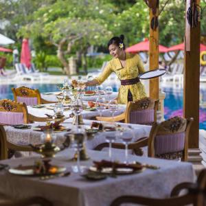 Nusa Dua Beach Hotel & Spa à Sud de Bali: Rajas Balinese Cuisine