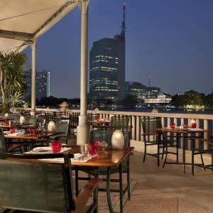 The Peninsula Bangkok: RC&T terrace