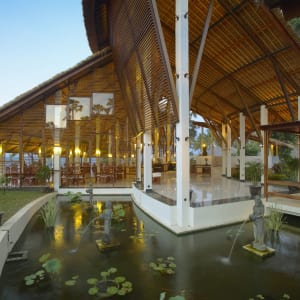 Siddhartha Ocean Front Resort & Spa in Ostbali: Restaurant
