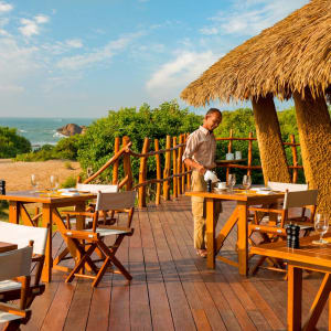 Yala Nationalpark Safari - Chena Huts - 3 Tage ab Colombo: f&b: Restaurant