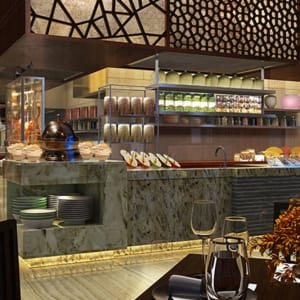 Hyatt Regency in Xian: Restaurant