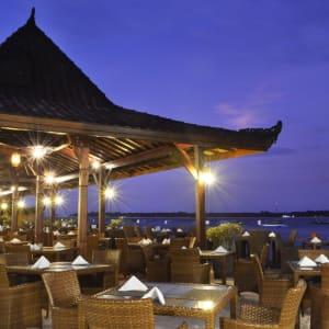 Vila Ombak à Gili: Restaurant d'Ombak Joglo