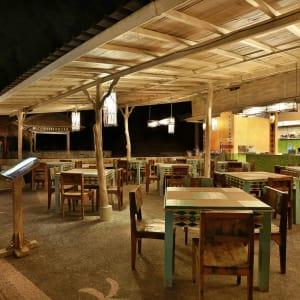 Vila Ombak in Gili: Restaurant Ipanema