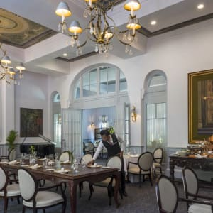 Raffles Hotel Le Royal in Phnom Penh: Restaurant Le Royal