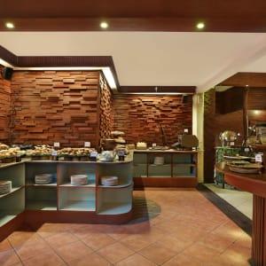 Vila Ombak à Gili: Restaurant Seahorse