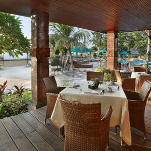 Vila Ombak in Gili: Restaurant Seahorse