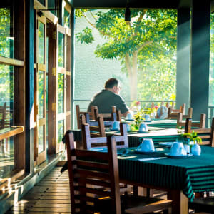 Melheim Resort in Ella/Haputale/Koslanda: Restaurant Terrace