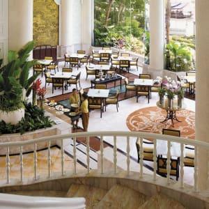 Shangri-La Bangkok: Riverside Lounge Daytime - Top View