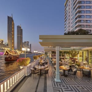 Mandarin Oriental in Bangkok: Riverside Terrace