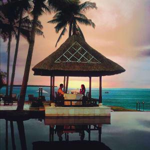 The Oberoi Beach Resort, Lombok: Romantic Dining