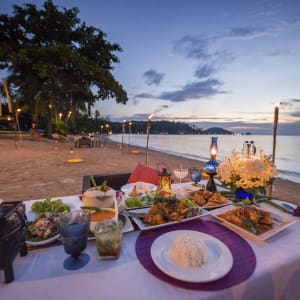 Seavana Beach Resort in Ko Mak: Romantic Dinner