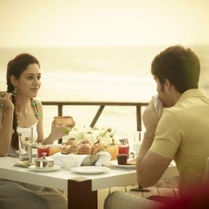 Radisson Blu Resort Temple Bay in Mahabalipuram: Romantic Dinner