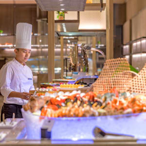 Pan Pacific Yangon: Saan | Buffet