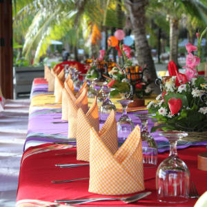 Coco Grove Beach Resort in Siquijor: Salamandas Restaurant