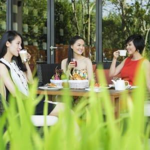Salinda Resort in Phu Quoc: Salinda Restaurant Garden