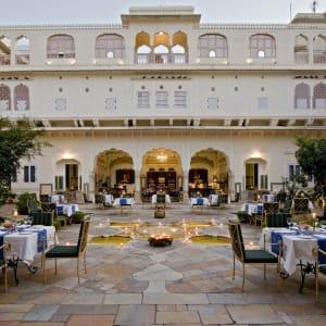 Samode Haveli in Jaipur: Samode Haveli Courtyard