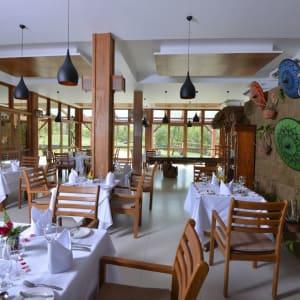 Popa Garden Resort in Bagan: Sandague Restaurant