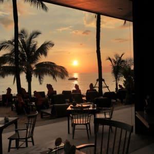 Ramada Resort by Wyndham Khao Lak:  Sassi's Terrace at Sun Set