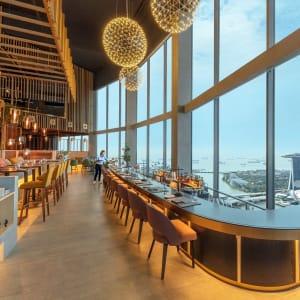 Swissotel The Stamford à Singapour: SKAI Entrance View
