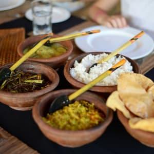 Living Heritage Koslanda à Ella/Haputale/Koslanda: Sri Lanka rice and curry