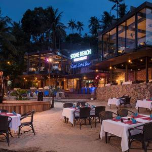 Panviman Resort in Ko Phangan: Stone Beach Restaurant