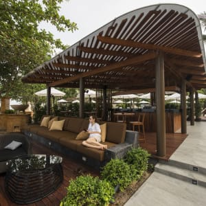 Layana Resort & Spa in Ko Lanta: Sundowner Bar