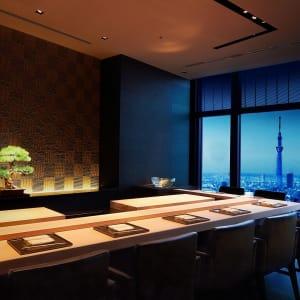 Mandarin Oriental à Tokyo: Sushi sora restaurant