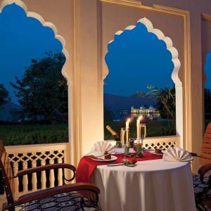 Trident à Jaipur: Terrace Bar