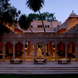 Aman Geniesser-Reise ab Jaipur: f&b: Terrace Dining
