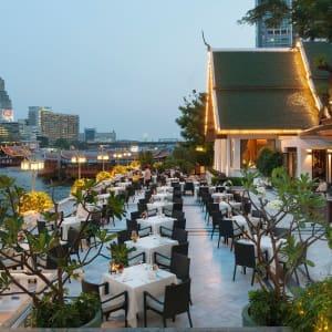 Mandarin Oriental à Bangkok: Terrace Rim Naam