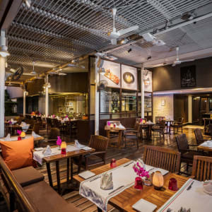 Pathumwan Princess in Bangkok: Terrazza Italian Restaurant