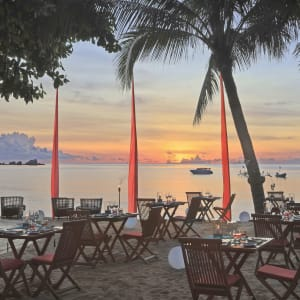 Anantara Rasananda Koh Phangan Villas in Ko Phangan: The Bistro at The Beach