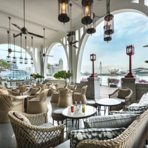 The Fullerton Bay à Singapour: The Clifford Pier (Alfresco Area I)
