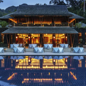 The Datai Langkawi:  The Dining Room (Exterior)