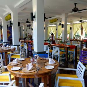 Bungaraya Island Resort in Kota Kinabalu: The Long House Restaurant