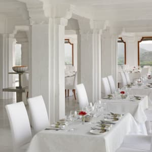 RAAS Devigarh à Udaipur: The Restaurant-Normal