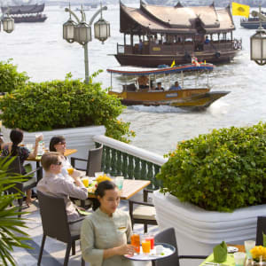 Mandarin Oriental à Bangkok: The Verandah Breakfast Terrace