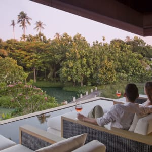 Anantara Mai Khao Phuket Villas: Tree House Sunset Drinks