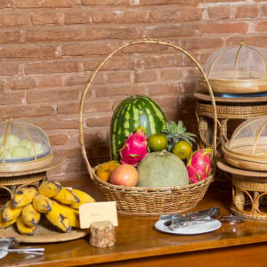 The Hotel @ Tharabar Gate in Bagan: Tropical Garden Restaurant | Buffet