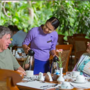 The Hotel @ Tharabar Gate in Bagan: Tropical Garden Restaurant | Staff