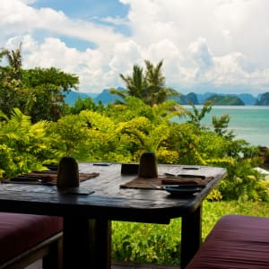 Six Senses Yao Noi in Ko Yao:  View from The Living Room